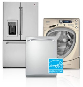 ge refrigerator, dishwasher, clothes washer